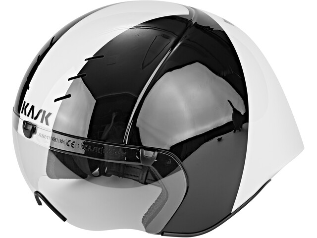 Kask Mistral Cykelhjelm, black/white
